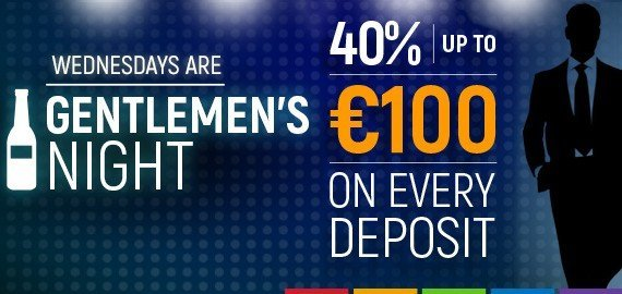 gentlemen's night deposit bonus by slotsmillion