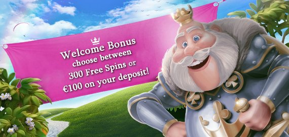 100% Match up to €100 or 300 Free Spins Welcome Bonus from Casino Heroes
