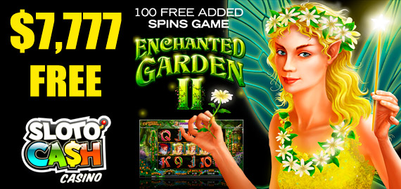 Up to $7,777 + 300 Free Spins Welcome Bonus from Sloto'Cash Casino
