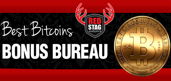 Best Bitcoins Bonus Bureau from Red Stag Casino