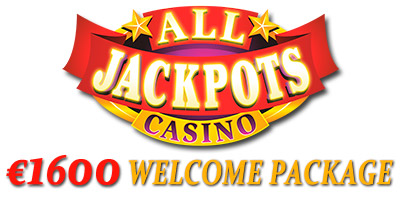 €1,600 Welcome Bonus Package from All Jackpots Casino