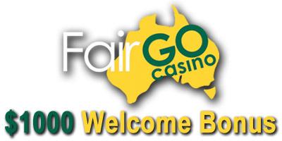 5X 100% up to $200 Match Bonus at Fair Go Casino