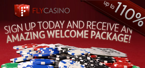 Triple Welcome Package from Fly Casino
