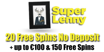 20 Free Spins On Sign Up + up to €100 & 150 Spins Bonus from Super ...