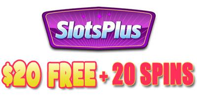 20 Free 20 Free Spins In Slots Plus No Deposit Bonus