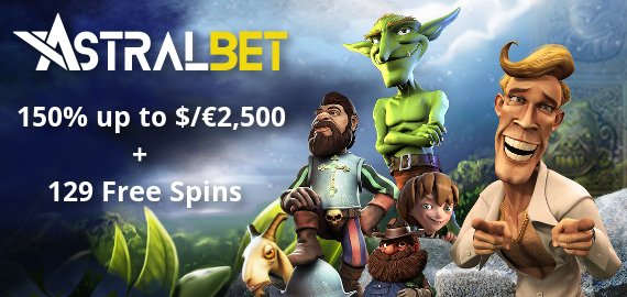 The Starter Kit Free Spins and Deposit Bonus from AstralBet