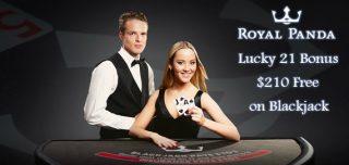 royal panda casino lucky 21 bonus