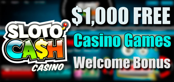 slotocash casino games welcome