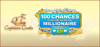captain cooks casino 100 chances bonus