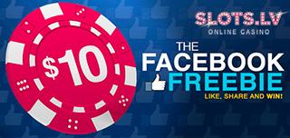 slots.lv casino no deposit facebook freebie