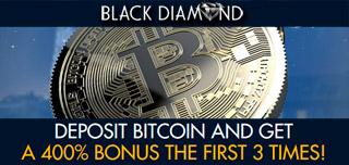 balckdiamond casino welcome bitcoin bonus pack