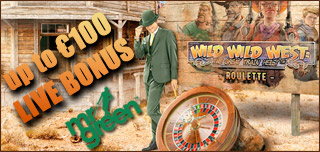 mr green casino live wild wild west roulette bonus