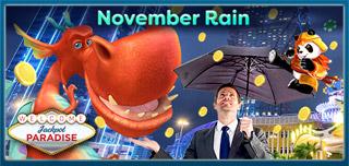 jackpot paradise november rain free spins