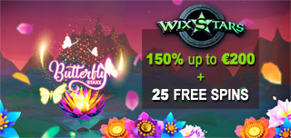 wixstars casino match free spins review