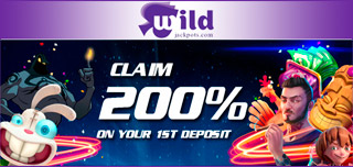 wildjackpots welcome offer featured