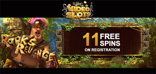 videoslots casino sign-up 11 free spins no deposit bonus