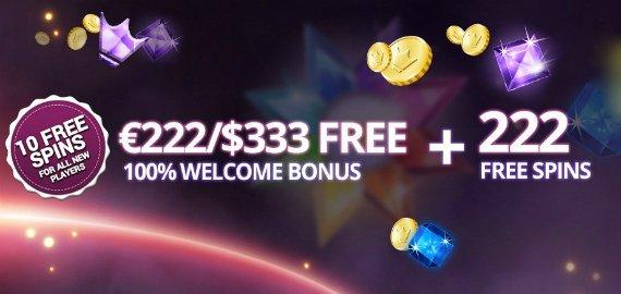 222 Free Spins + €222/$333 Welcome Bonus from Yako Casino
